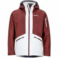 Glacier Grey / Marsala Brown Marmot Storm Seeker Jacket Mens