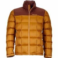 Golden Bronze / Marsala Brown Marmot Greenridge Jacket Mens