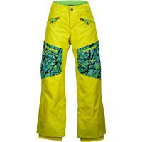 Sulphur / Vibrant Green Shred Marmot Freerider Pant Boys