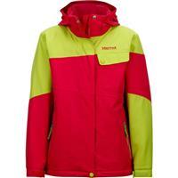 Pink Rock / Bright Green Marmot Moonstruck Jacket Girls