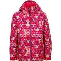 Pink Lotus Geo Marmot Big Sky Jacket Girls