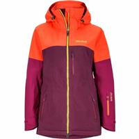 Poppy / Magenta Marmot Jumpturn Jacket Womens
