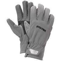 Gargoyle / Black Marmot Glide Softshell Gloves Mens
