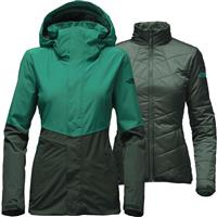Conifer Teal / Dark Spruce The North Face Garner Triclimate Jacket Womens