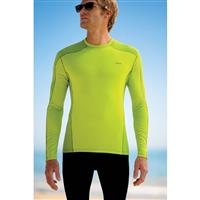 Gecko Green Patagonia Capilene 3 Midweight Crew Mens
