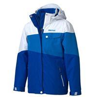 Gem Blue/White Marmot Moonstruck Jacket Girls