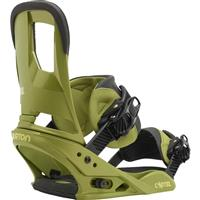 GI Green Burton Cartel Re:Flex Snowboard Bindings Mens