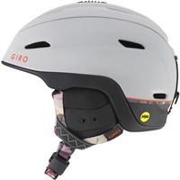 Matte Light Grey Piste Giro Zone MIPS Helmet