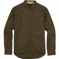Keef Burton Glade Long Sleeve Woven Shirt Mens