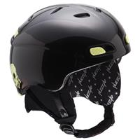 Gloss Black RED Buzzcap Helmet Youth