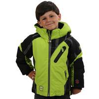 Go Cart Green Obermeyer Super G Jacket Preschool Boys