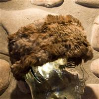Goma Mitchies Matchings Rabbit Fur Headband Womens