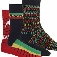 Good Vibes Burton Apres Sock 3 Pack Mens