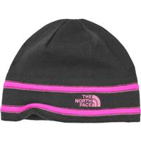 Graphite Grey / Gem Pink The North Face TNF Logo Beanie Youth