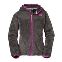 Graphite / Pink The North Face Oso Hoodie Girls
