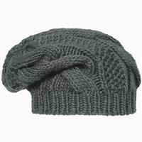 Graphite Turtle Fur Cabby Hat