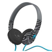 Gray / Black / Turquoise Skullcandy Uprock Headphones with Mic