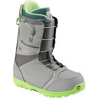 Gray/Green Burton Moto Boots Mens