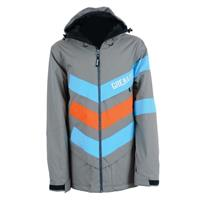 Gray Grenade Chevron Jacket Mens