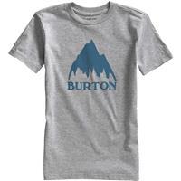Gray Heather Burton Classic Mountain SS Tee Boys