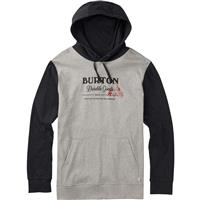 Gray Heather Burton Durable Goods Pullover Hoodie Mens