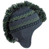 Turtle Fur Hawk Beanie - Boy's - Gray