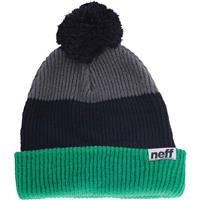 Green/Black/Grey Neff Snappy Beanie