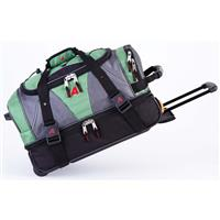 Green Grass Athalon 21 Equipment Duffel with Wheels