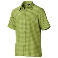 Green Lichen Marmot Eldridge SS Shirt Mens