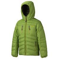 Green Lichen Marmot Hangtime Down Hoody Boys