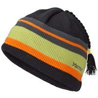 Green Lime Marmot Striper Hat Boys