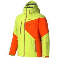 Green Lime / Sunset Orange Marmot Tower Three Jacket Mens