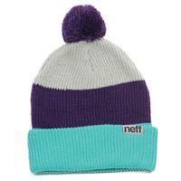 Green / Purple Neff Snappy Beanie