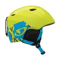 Green Skull Poncho Giro Slingshot Helmet Youth