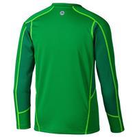Greenway/Yellow Marmot Windridge with Graphic LS Shirt Boys