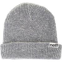 Grey Neff Fold Beanie