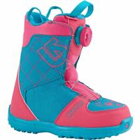 Pink / Teal Burton Grom Boa Snowboard Boots Youth