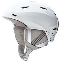White Dots Smith Arrival Helmet Womens