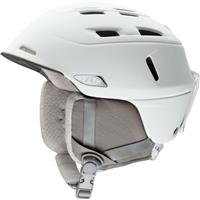 Pearl White (16) Smith Compass MIPS Helmet Womens