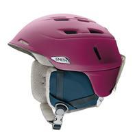 Matte Grape Smith Compass MIPS Helmet Womens