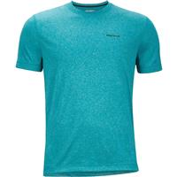Deep Jade Heather Marmot Conveyor Tee SS Mens
