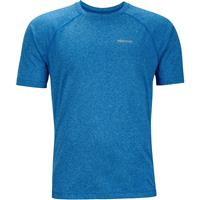 New True Blue Heather Marmot Accelerate SS Mens