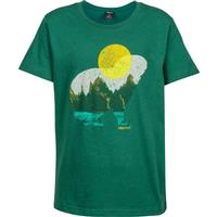 Deep Teal Marmot Alpine Zone Tee SS Boys