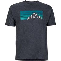 Charcoal Heather Marmot Norse Tee SS Mens