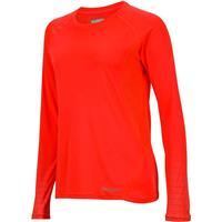 Neon Coral Marmot Crystal LS Womens