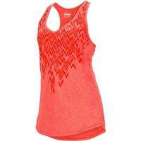 Neon Coral Marmot Layer Up Tank Womens