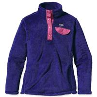 Patagonia Re-Tool Snap-T - Girl's - Harvest Moon Blue