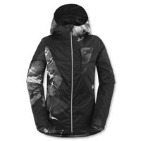 Hawk Spirit / Black Grey Volcom Dryas Jacket Womens front