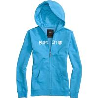 Burton Her Logo Basic Full Zip Hoodie - Girl's