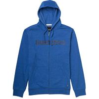 Heather Cyanide Burton Logo Horizontal FZ Hoodie Mens